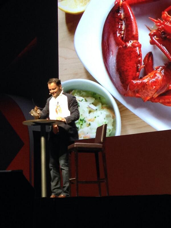 gsautereau: Now @JC_Climbs knows Howard to make friend (even amongst lobsters) #MagentoImagine http://t.co/eTRl5FfWqO