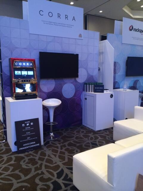 GoCorra: If you are at #MagentoImagine today, don't forget to stop by booth #105! http://t.co/EdWmk6iTuM
