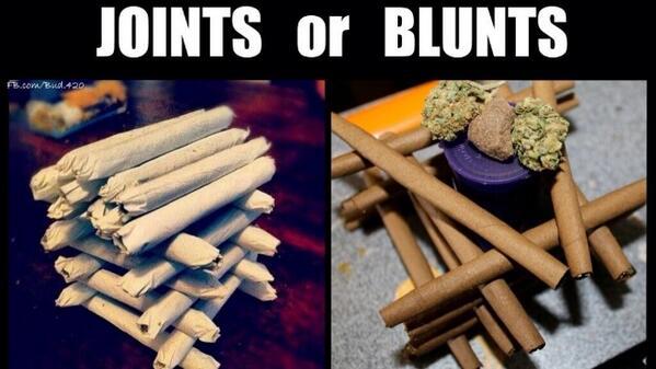 RT for blunts, Fav for joints.