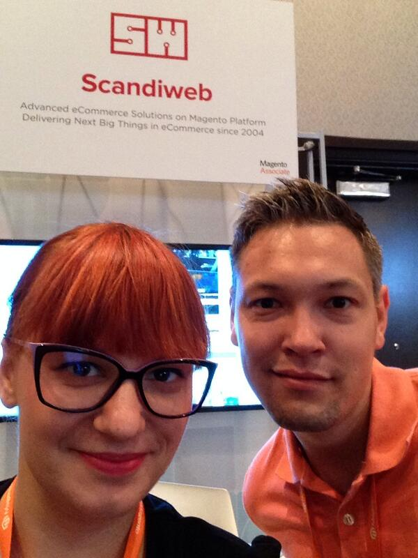 inchoo: #selfie with our great partners @scandiweb. We should make them to tweet more! #MagentoImagine http://t.co/Eq0TWmqD9y
