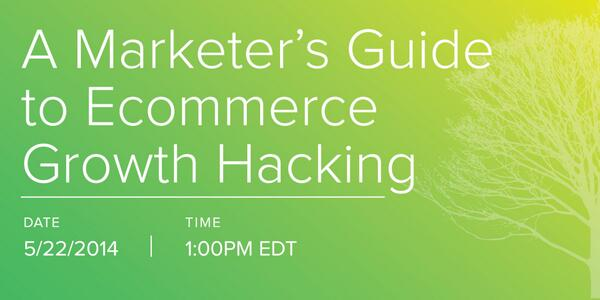 #Growthhacking for #ecommerce? Join @seanellis & @robertjmoore in this webinar: http://t.co/b5ZbwyW6ps http://t.co/TeBhy30G2s