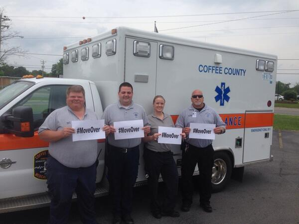 Crews from CCEMS are #LiveSavers Help them out & #MoveOver Your life may depend on it @THP_Colonel http://t.co/6g5d3Rw86F