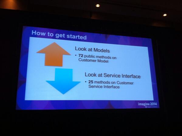 vrann: Potentially shorter learning curve with the Service Layer in Magento 2 #MagentoImagine http://t.co/vmqKz7RVrC