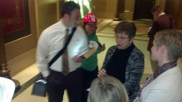 Rep. Hausman congratulates public housing advocates for getting $100M in bonding bill to hit House floor on Thur. http://t.co/7P0PsJQ7Uh
