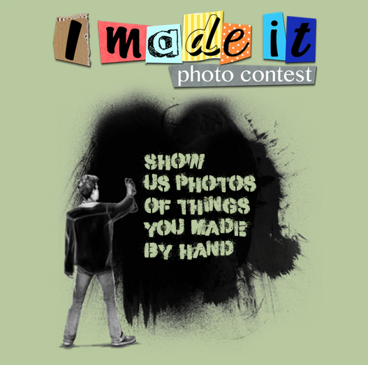 Time for a new photo contest! This time around, we want to see your handmade things: http://t.co/Gb3GB4i5RM http://t.co/ZTLtDKNC7I