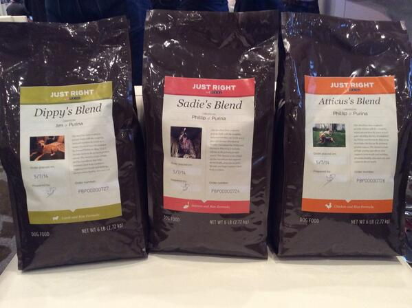 DEGdigital: Salmon, chicken, lamb... Create your personalized blend for your dog today at the @DEGdigital booth. #MagentoImagine http://t.co/1h26tLF3Lc