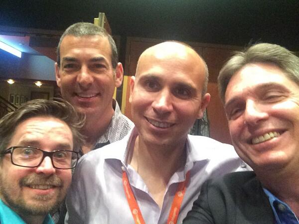 yairspitzer: Best selfie in Vegas. #MagentoImagine with 2 Ecommerce icons @royrubin05 & @BobSchwartz who'v made #magento The King! http://t.co/ciZljXWx4U