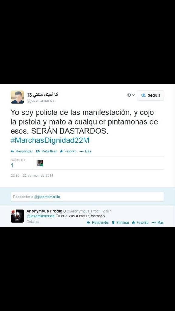 Un valenciano de 19 años, el primer detenido por pedir la muerte de políticos en Internet Bnno3JIIEAES1EE