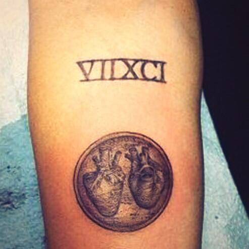 Tiny Tattoos On Twitter I Love Mileycyruss Leonardo Da Vinci