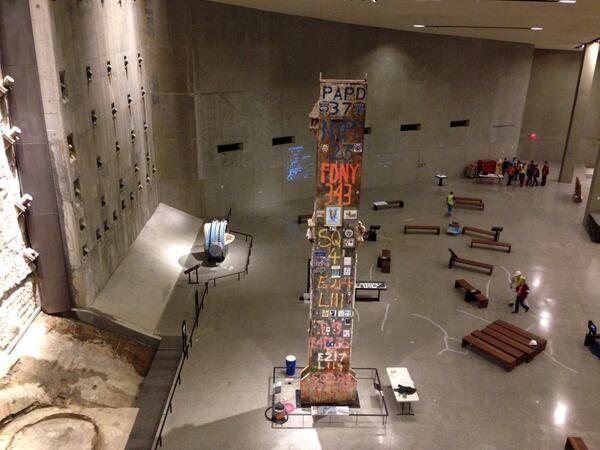 .@Sept11Memorial Museum is set to open. Here's a preview: http://t.co/kdUCyAyzBX @RickLeventhal #911Museum http://t.co/B90GMLJAgz