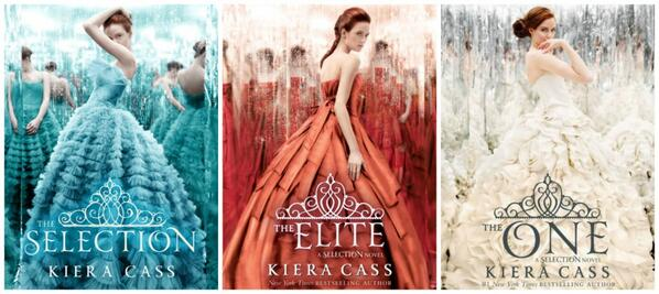 The Selection Series by @KieraCass is #1 on the NYTimes Bestseller List! Congrats! And THANK YOU to the readers! http://t.co/UUItqjc2NK
