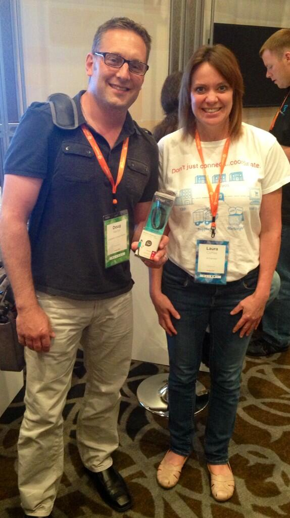 lauracoffee: Congrats to Doug Hertel @lippertcomponents.com winner of a fitbit @nChannelCloud drawing  #MagentoImagine http://t.co/T37i67s6x2