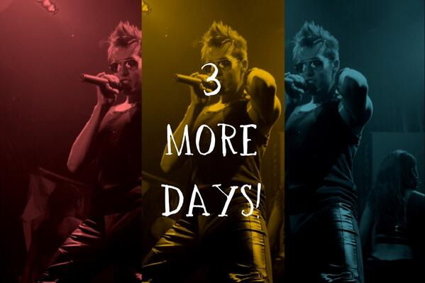 3 more days 'til the #EvolutionTour begins! Are you ready? #concert #tour #music #evolution http://t.co/BUWMLs2uZB