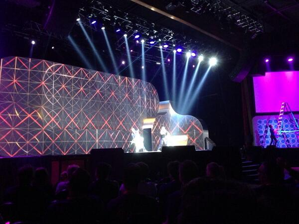 ebizmarts: #MagentoImagine closing keynote starts with some serious drums performance http://t.co/jv5Sh6jdzJ