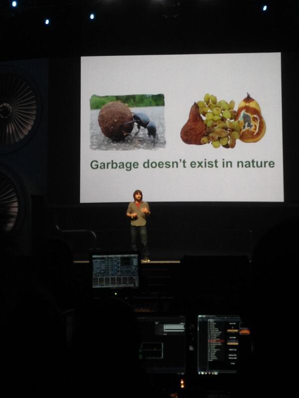 JoshuaSWarren: Now @Tom_TerraCycle is on stage at #MagentoImagine http://t.co/i38BNTKErh