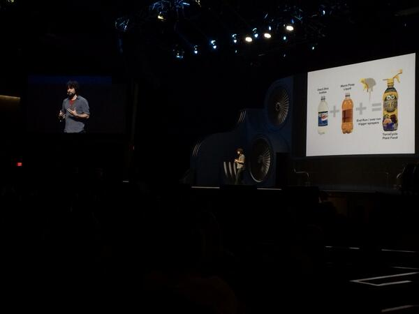 magento_rich: Re-use plastic soda bottles for new products. #MagentoImagine http://t.co/aPFGmsDtaq