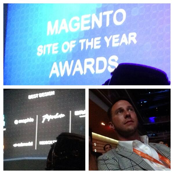 _submodal: Submodal wins best designed Magento site of the year 2014 for http://t.co/aslgMvqZm1! #MagentoImagine http://t.co/9S5LeHrTKd