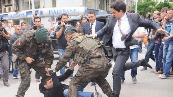 "Fuckin' Ed Miliband. ""@mashable: Turkish government official accused of kicking man at mine protest http://t.co/a3rzHILI5Y"""