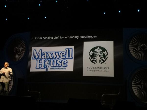 blackbooker: It's bigger than you and coffee! ;) #magentoimagine http://t.co/LkPnTbiiXs