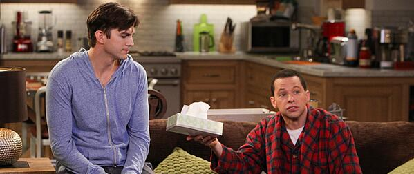 Grab the tissues! #TwoAndAHalfMen is set to end its run after next season. Get the details: http://t.co/leYlr1pdj2 http://t.co/mmbOnrrHh0