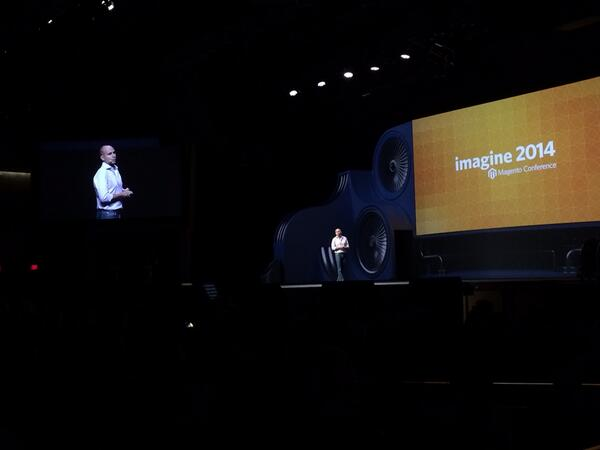 magento_rich: Roy announces Imagine 2015 at the Wynn. #MagentoImagine http://t.co/xMn93nZuGt