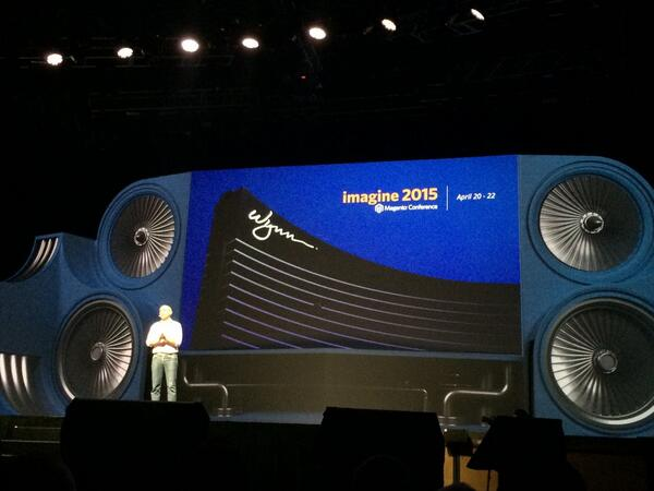 blackbooker: Imagine 2015 will be here in Vegas, April 20-22 at the Whynn. Planning ahead!Thank you Magento! #magentoimagine http://t.co/BShAUFUzu6