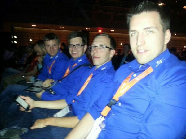 flagbit: The blue shirt group says good night and good luck! Cya next year in the @WynnLasVegas  #MagentoImagine http://t.co/e8s5yHKzXP