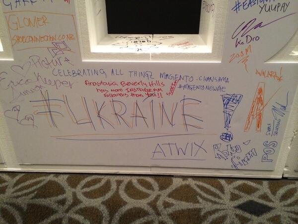 slkra: But we did! #MagentoImagine @atwixcom #Ukraine http://t.co/hWeXfoxcAg