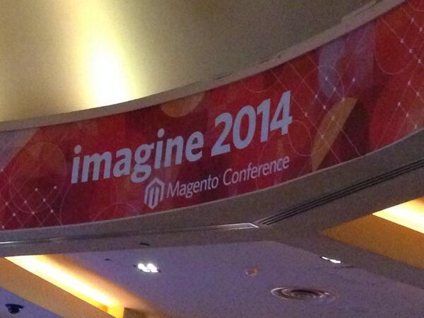 kab8609: Thanks to @magento for a great #MagentoImagine! http://t.co/MJYlH7oemj