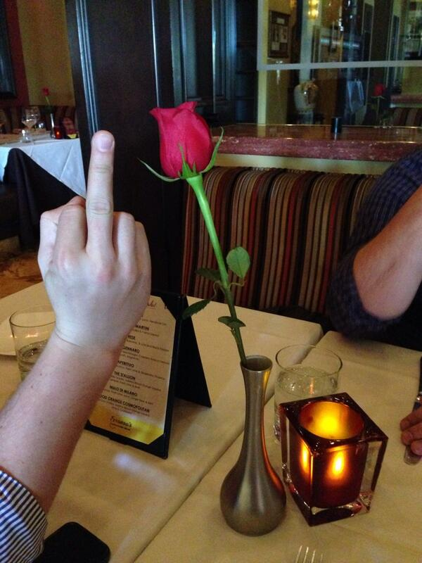lfcolon62: Having a romantic dinner with my co-workers before we fly back to NY. #MagentoImagine http://t.co/vYm0LsKFBO