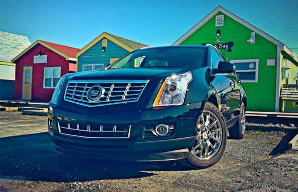 2014 Cadillac SRX black