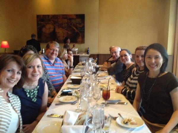 Conference support committee dinner for #aapor http://t.co/SRxbShtzJY
