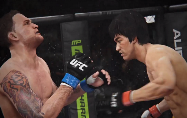 VIDEO: New footage of Bruce Lee in an upcoming UFC video game has been released http://t.co/kQ3ocDrxaN http://t.co/RgVTJHpp8l