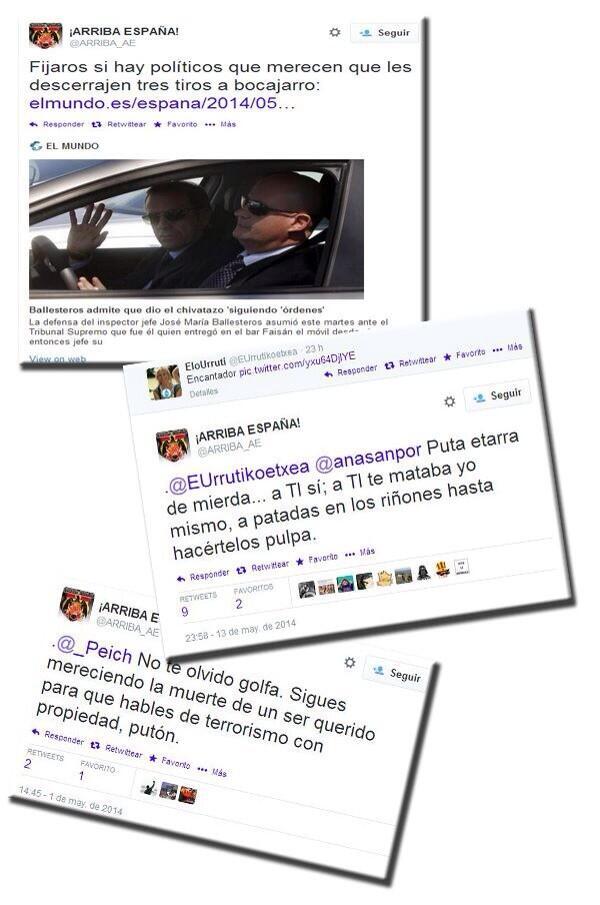 Un valenciano de 19 años, el primer detenido por pedir la muerte de políticos en Internet BnpQmZOCYAAQ4Q5