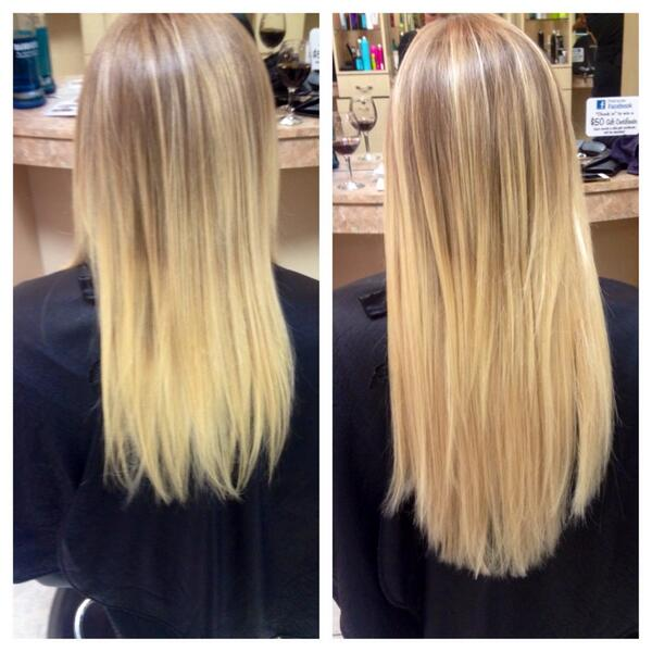 Nickyzbb On Twitter Left Is Before Right Is After Hotheadshair