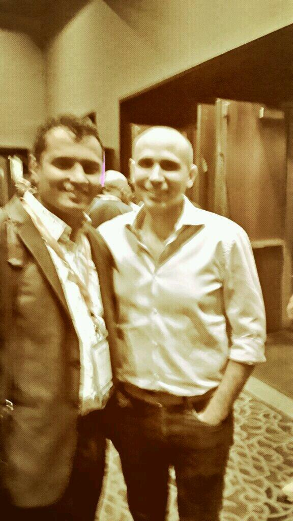 harshalelsner: Me with #magento CEO. At #MagentoImagine. It was great pleasure. http://t.co/sY7L6KWpIt