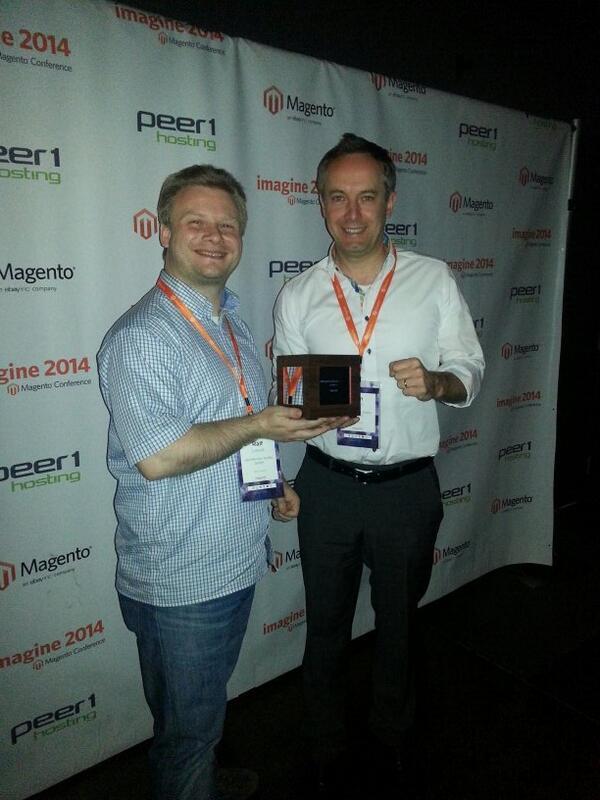 netz98: netz98 gewinnt den Magento 2013 Spirit of Excellence Award Germany auf der #MagentoImagine http://t.co/8sihgWf2tQ
