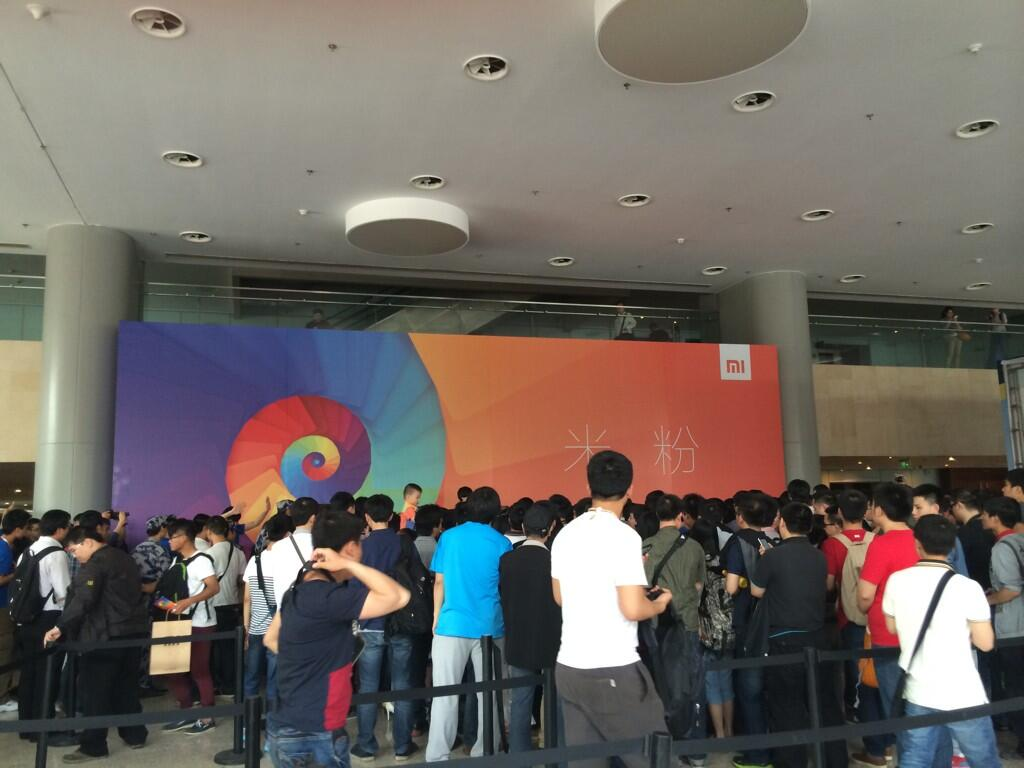 Twitter / kaylenehong: At Xiaomi's launch event in ...