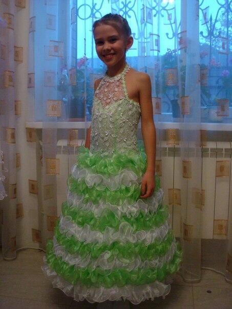 Детские платье для девочек 5 лет