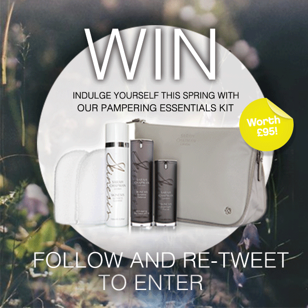 #Competition time! #WIN a pampering essentials kit worth £95! Follow & RT to enter! http://t.co/lKlZ6dgGe2