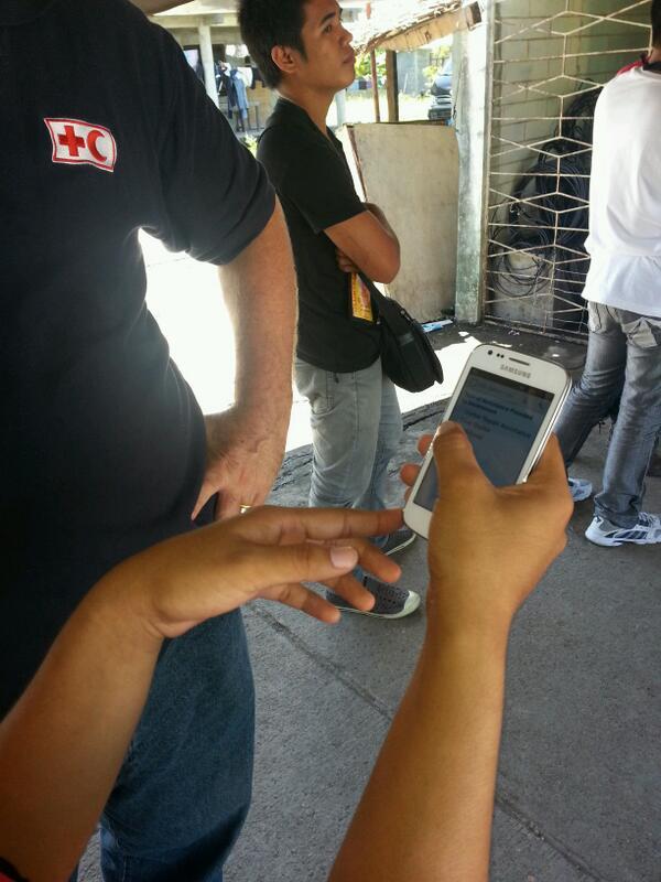 "Drew Strobel on Twitter: ""With philippines red cross volunteers in ..."