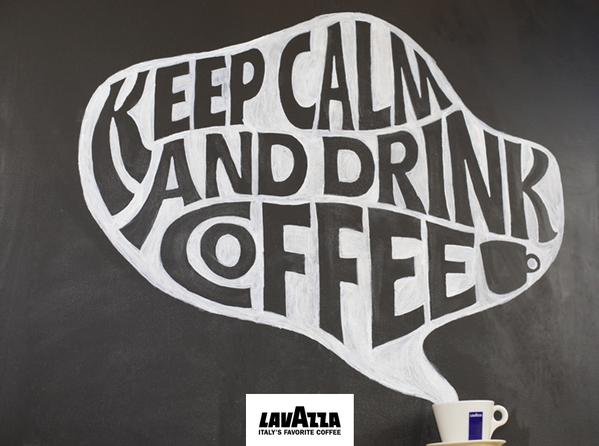 Lavazza Usa On Twitter Keep Calm And Drink Coffee Retweet If You