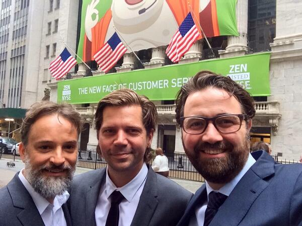 From Pisserenden to Wall Street in less than 7 yrs. Thanks everybody for your support! Cc @primdahl & @aghassipour. http://t.co/ynTBciaVrJ