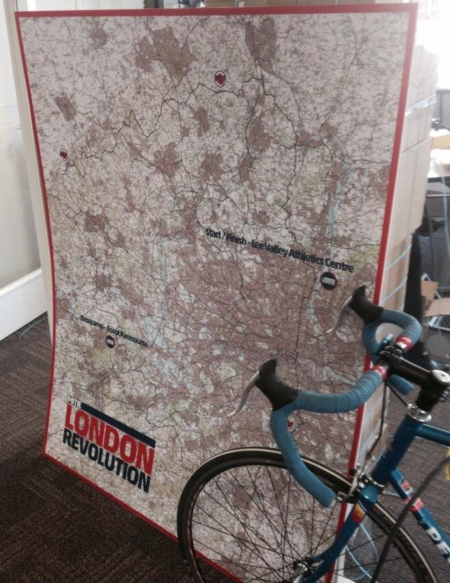 Twitter / RevolutionRides: The huge map is here, truck ...