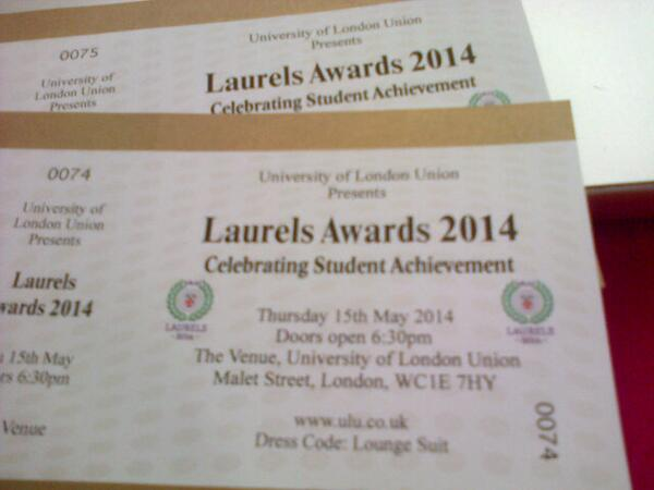 Two Laurels tickets