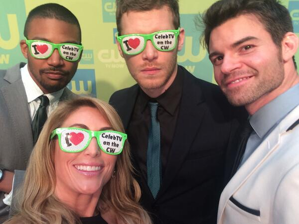 Ladies, check out these guys! #TheOriginals @CharlesMD @JosephMorgan @danieljgillies #CWUpfronts http://t.co/guGOFcnCtc