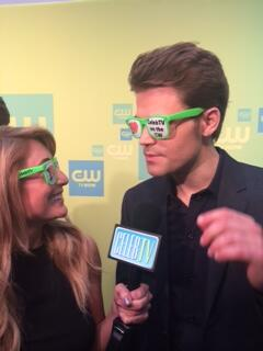 .@paulwesley liked our glasses too :) #CWUpfronts http://t.co/VsucO9a32B