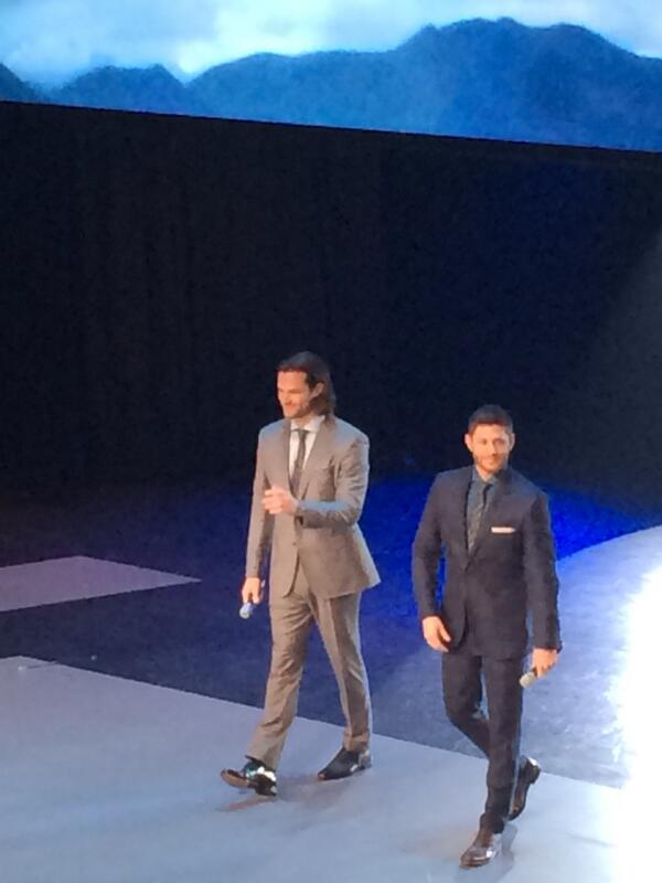 #Supernatural studs at the #CWUpfront http://t.co/X1n31oDN7v