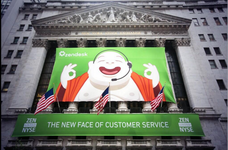 Twitter / BostonVC: Zendesk graphics on NYSE building ...