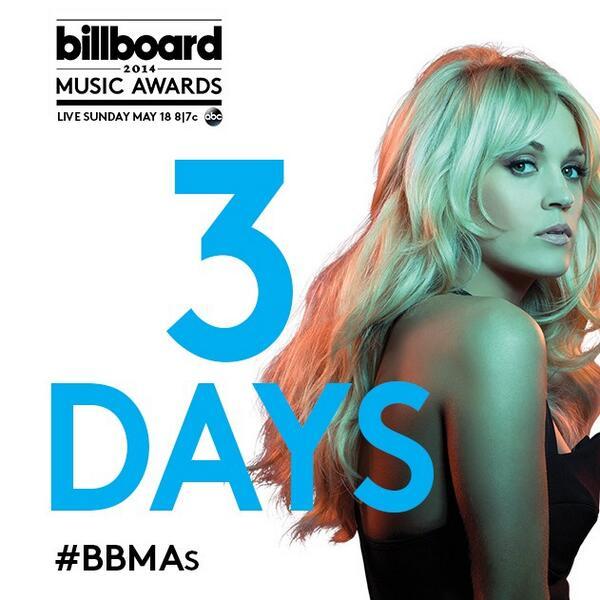 3 days left to vote for @carrieunderwood for @OfficialBBMAs Milestone Award!  #BBMAs http://t.co/6ydJdqWXCR DO IT. http://t.co/FCvSzzmtSA